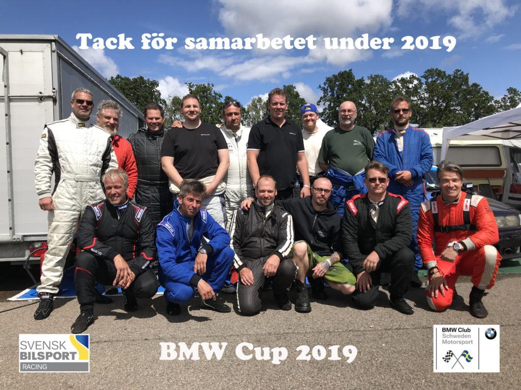 BMW Cupgänget säsongen 2019